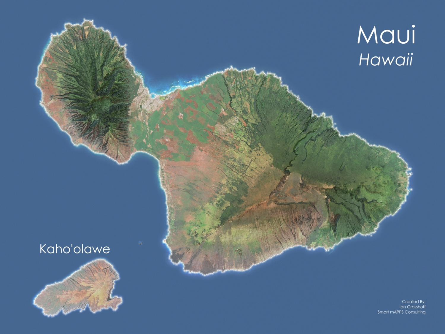 image about Maui Map Printable named Good mAPPS Consulting